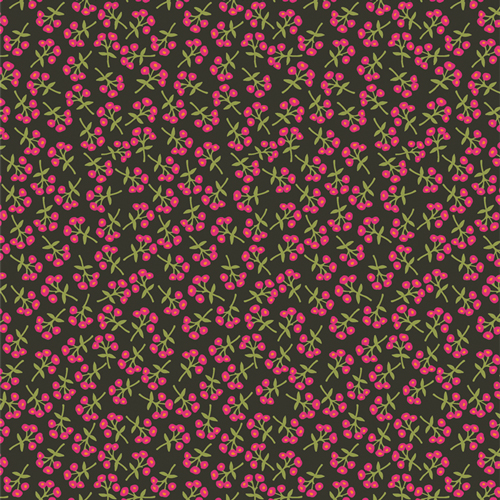 Sweet Floret Cerise in Rayon from Open Heart by Maureen Cracknell for AGF