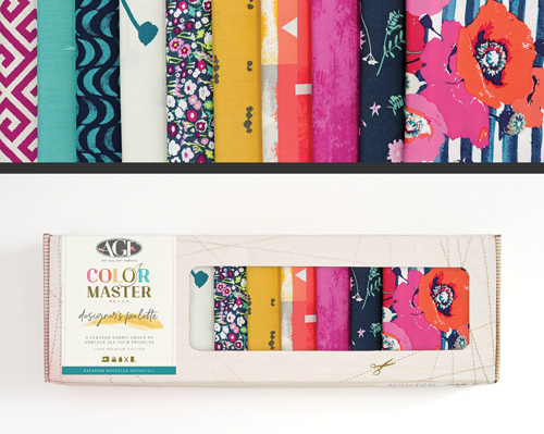 AGF Colormaster Katarina Rocella No 1 Designers Palette Fat Quarter Collectors Box