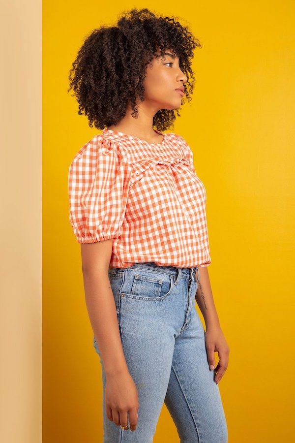 The Sagebrush Top By Friday Pattern Company