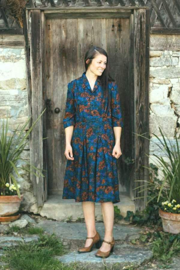 Lindy Shirtdress - Folkwear Patterns
