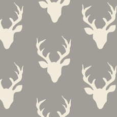Hello Bear Buck Forest Mist Knit - Art Gallery Fabric 58in/60in Per Metre