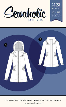 Minoru Jacket Pattern - Sewaholic Patterns