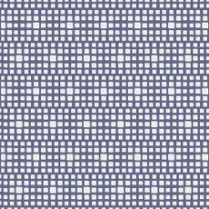 Squared Elements Blueberry - Art Gallery Fabric 44in/45in Per Metre
