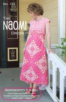 The Naomi Dress Pattern - Serendipity Studio