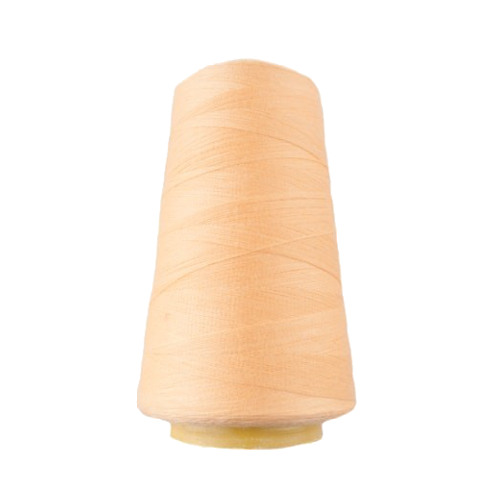 Hantex Overlocker Thread - Soft Yellow - 100% Polyester 3000 Yrds (2700+m)