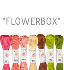 Flowerbox - Sublime Floss Selection Pack - 7pcs
