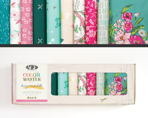 AGF Colormaster Sharon Holland No 1 Designers Palette Fat Quarter Collectors Box