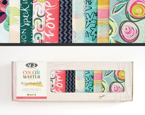 AGF Colormaster Caroline Hulse No 1 Designers Palette Half Yard Collectors Box