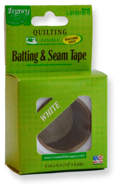 Legacy Batting & Seam Tape - 9.1m (10yds) X 3cm (1.5in)
