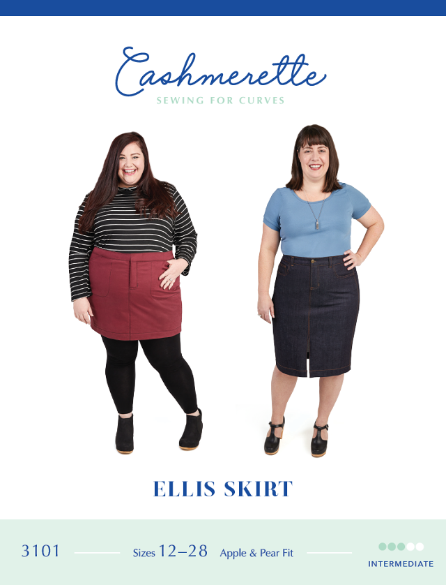 Ellis Skirt Pattern - Cashmerette Patterns