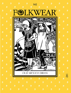 Old Mexico Dress by Folkwear Patterns