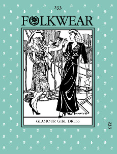 Glamour Girl Dress by Folkwear Patterns