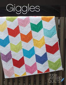 Giggles Baby Quilt - Jaybird Quilts Patterns