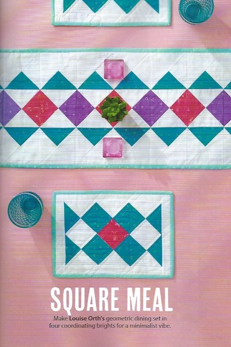 Simply Sewing Issue 57 - Square Meal