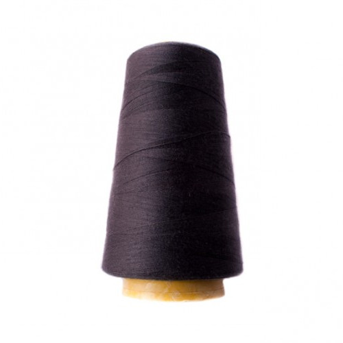 Hantex Overlocker Thread - Anthracite - 100% Polyester 3000 Yrds (2700+m)