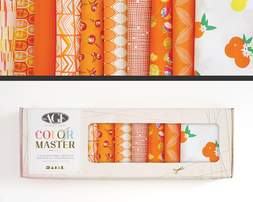 AGF Colormaster Half Yard Collectors Set - Tangerine Summer Edition