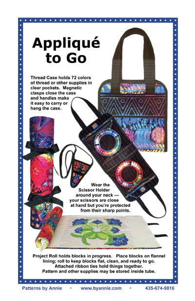 Applique to Go Case Pattern By Annies
