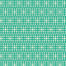 Squared Elements Kings Road Turquoise - Art Gallery Fabric 44in/45in Per Metre