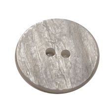 Acrylic Button 2 Hole Textured Without Gloss 23mm Grey