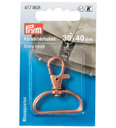 Prym Snap Hook 30 X 40 mm Rose Gold 1 Piece