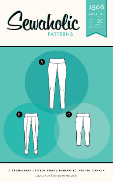 Pacific Leggings Pattern - Sewaholic Patterns