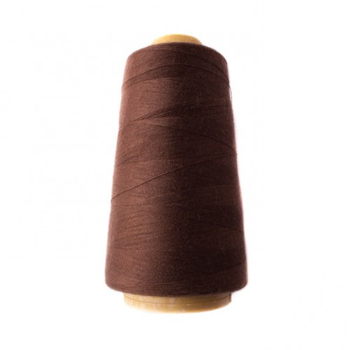 Hantex Overlocker Thread - Chocolate - 100% Polyester 3000 Yrds (2700+m)