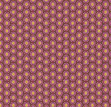 Oval Elements Chocolate Cherry - Art Gallery Fabric 44in/45in Per Metre
