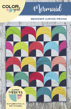 Mermaid Quilt Pattern - Color Girl