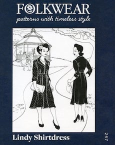 Lindy Shirtdress by Folkwear Patterns