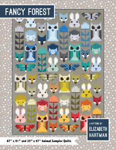Fancy Forest Quilt Pattern Book - Elizabeth Hartman