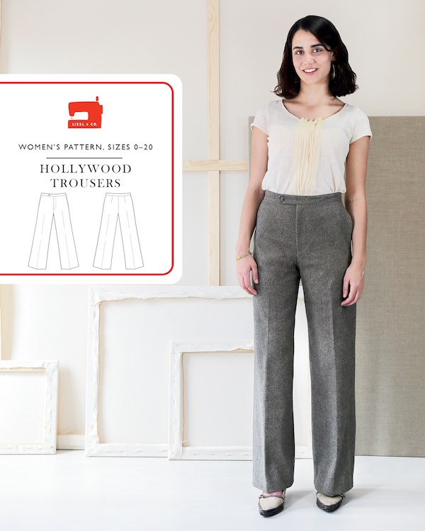 Hollywood Trousers by Liesl + Co Pattern