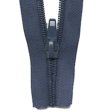 Make A Zipper Heavy Duty - 108in Long With 12 Zipper Pulls - Navy