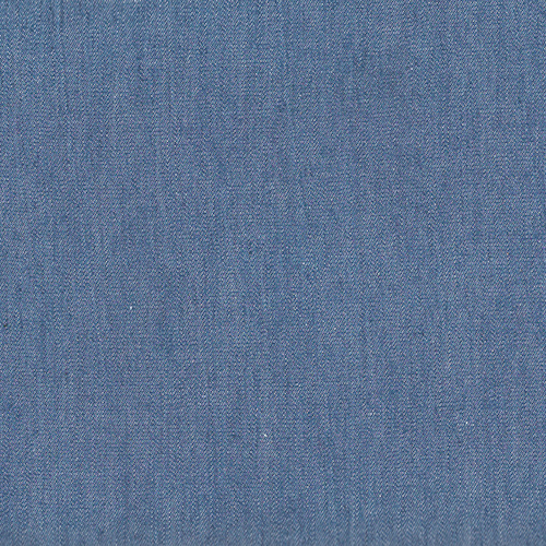 Springfield Mid Blue Solid Denim Fabric