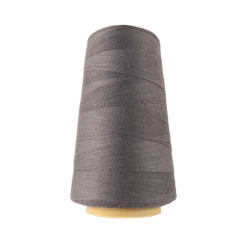 Hantex Overlocker Thread - Grey - 100% Polyester 3000 Yrds (2700+m)