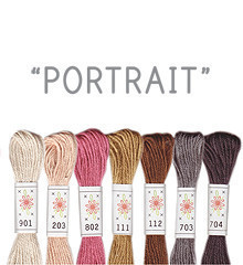 Portrait - Sublime Floss Selection Pack - 7pcs
