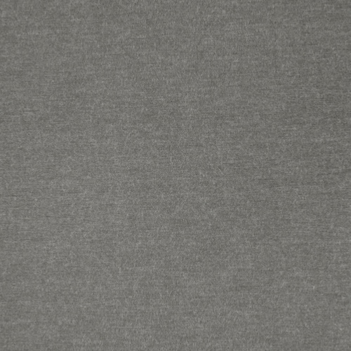 Milano Dark Grey Heathered Viscose Jersey Fabric