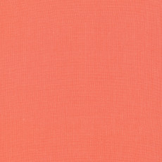 Cirrus Solids Salmon - Cloud 9 Yarn Dyed Cross Weave Fabric 44in/45in Per Metre