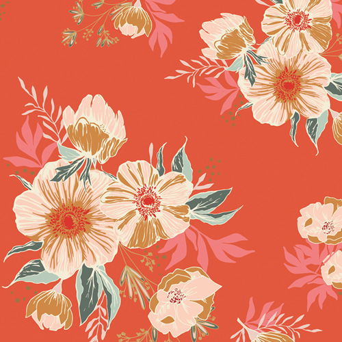 Candied Roses in Rayon from Cozy & Joyful designed by Maureen Cracknell for AGF