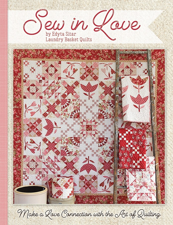 Sew In Love Book - Laundry Quilts By Edyta Sitar