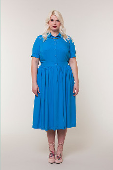 Penny Shirtdress Pattern Sizes 18 - 26 (US) - Colette Patterns