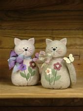 Here Kitty, Kitty - Countryside Crafts Felt Pattern