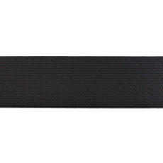Black Elastic - 40mm X 50m