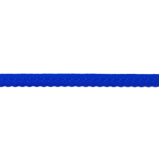 Cobalt Foldover Scalloped Edge Elastic - 12mm X 25m