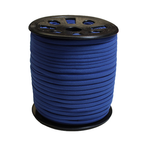 Dark Blue Narrow Banded Elastic - 4mm x 92m