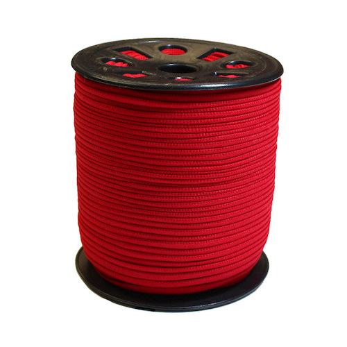 Red Narrow Banded Elastic - 4mm x 92m