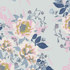 Ethereal Fusion Wild Posy Ethereal - Art Gallery Fabrics Per Metre