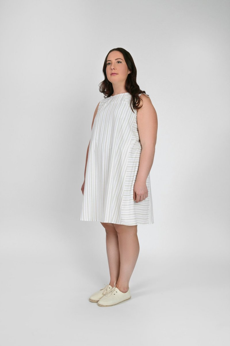 The Rushcutter Dress Pattern By In The Folds