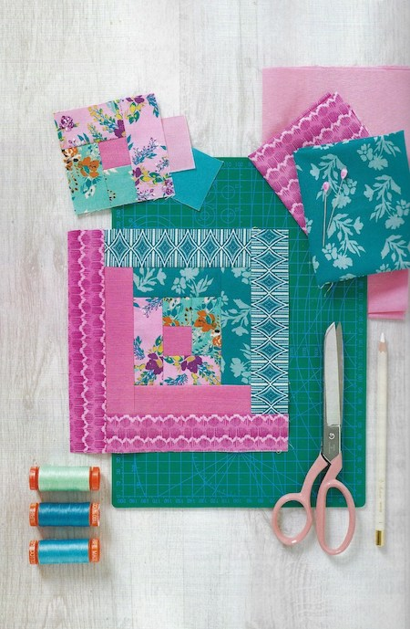 Sew Magazine Issue 73 - Around We Go Quilt