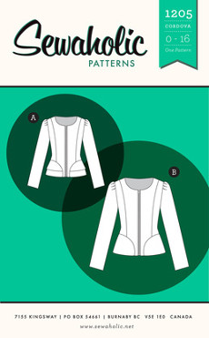 Cordova Jacket Pattern - Sewaholic Patterns