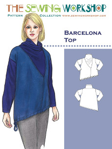Barcelona Top Pattern - Sewing Workshop Pattern